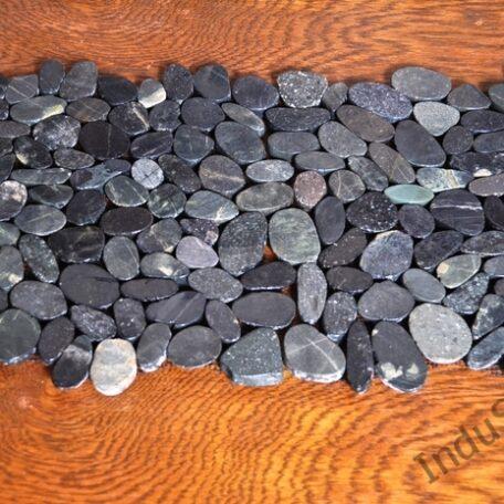 INDUSTONE MOZAIKA KAMIENNA CUTTING BLACK INTERLOCK CZARNE CIĘTE OTOCZAKI 30×30 (1)