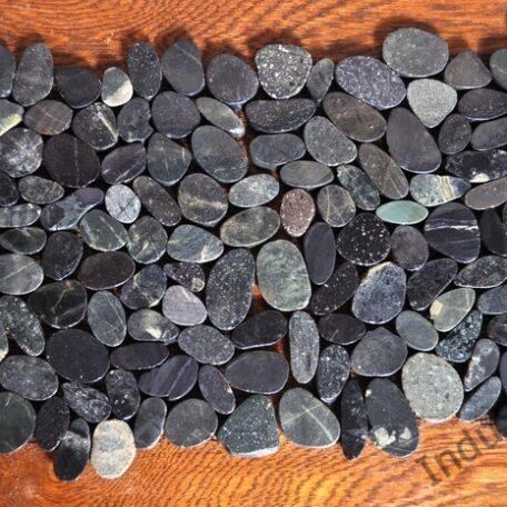 INDUSTONE MOZAIKA KAMIENNA CUTTING BLACK INTERLOCK CZARNE CIĘTE OTOCZAKI 30×30 (6)