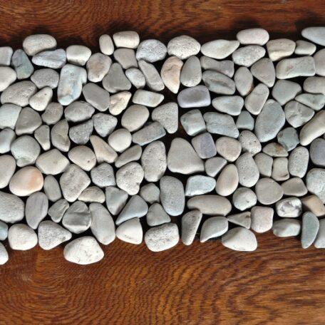 InduStone Mozaika Kamienna na siatce GREEN Interlock zielone otoczaki 30×30 (6)