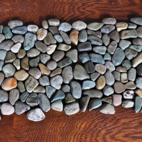InduStone Mozaika Kamienna na siatce GREEN Interlock zielone otoczaki 30×30 (8)