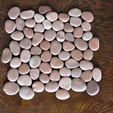 InduStone Mozaika Kamienna na siatce PINK Interlock różowe otoczaki 30×30 (11)