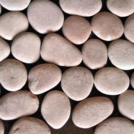 InduStone Mozaika Kamienna na siatce PINK Interlock różowe otoczaki 30×30 (8)