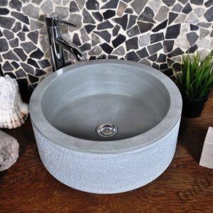 InduStone umywalka kamienna nablatowa SL-D  green A