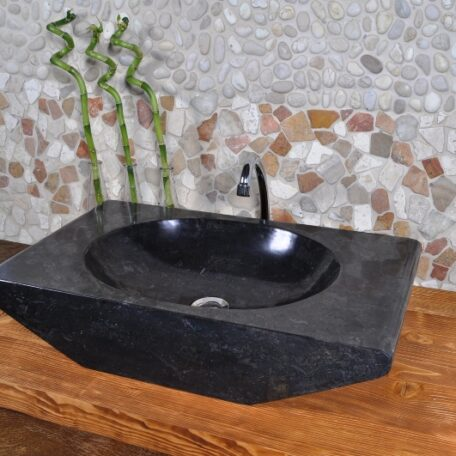 ROV-P Black Industone kamienna umywalka2