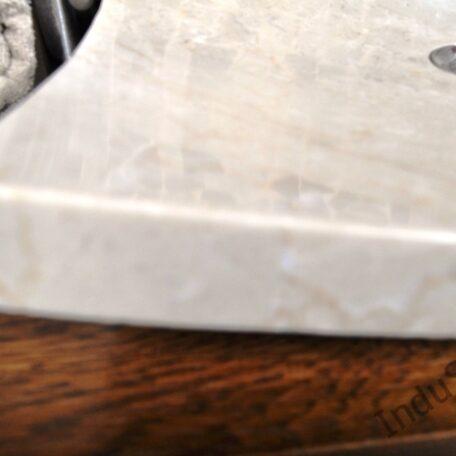 InduStone umywalka kamienna KWADRATOWA BEIGE A (4)
