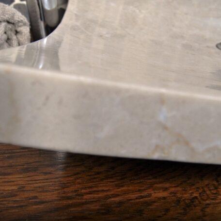 InduStone umywalka kamienna KWADRATOWA BEIGE A (5)