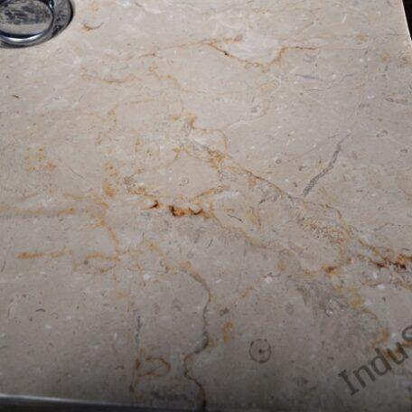 InduStone umywalka kamienna KWADRATOWA BEIGE A (6)