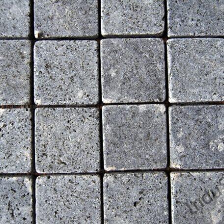INDUSTONE MOZAIKA KAMIENNA BLACK SQUARE CZARNA KOSTKA 30×30 (1)