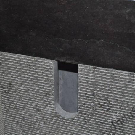 PPR-M BLACK OR WHITE INDUSTONE UMYWALKA KAMIENNA STOJĄCA 90 CM (2)