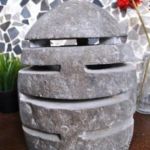 InduStone lampa ogrodowa z kamienia rzecznego RIVER STONE mała G