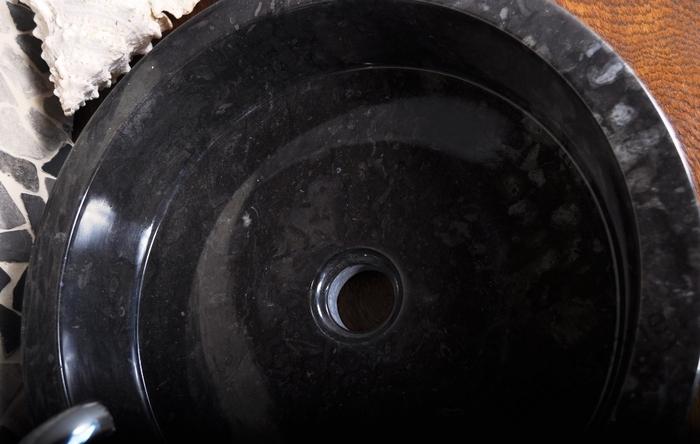 SL-M BLACK C INDUSTONE UMYWALKA KAMIENNA NABLATOWA 40X12 CM (1)