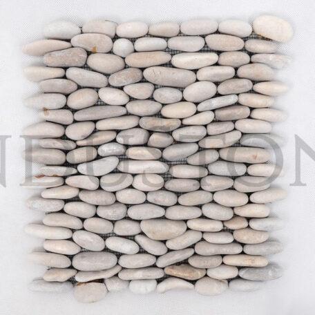 Industone Mozaika Kamienna Na Siatce Brown Standing Brązowe