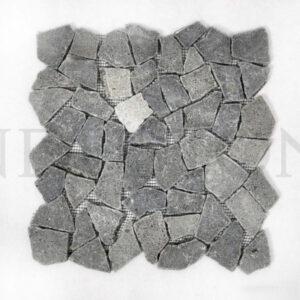 InduStone Mozaika kamienna ANDEZYT czarna ŁAMANA
