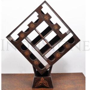 InduStone drewniany STOJAK NA WINO