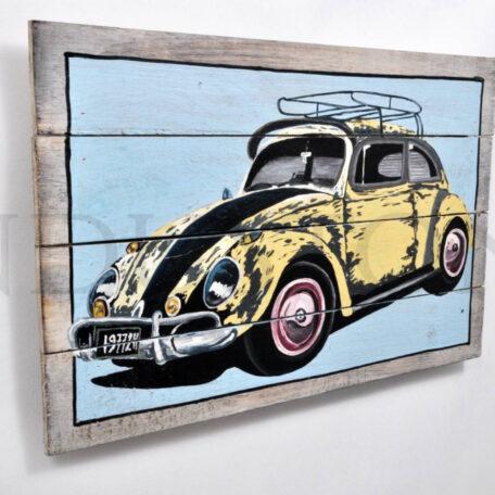 -drewniany-obraz-vintage-garbus (1)