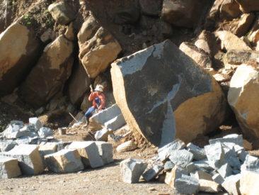 mozaika kamienna, InduStone, produkcja w Indonezji, cięcie