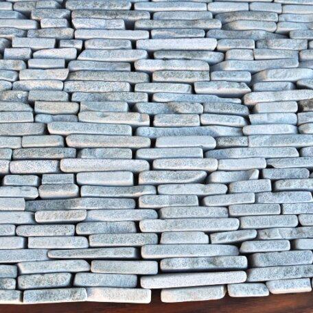 mozaika kamienna industone kamienie na sztorc SOFT GREEN