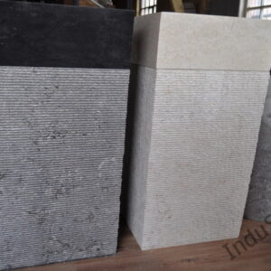 InduStone umywalka kamienna stojąca PPR-M Black or White