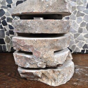 InduStone lampa ogrodowa kamienna EROSI 6