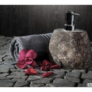 InduStone RIVER STONE dozownik na mydło z Indonezji