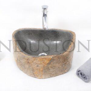 InduStone kamienna umywalka nablatowa RIVER STONE NSB1 H